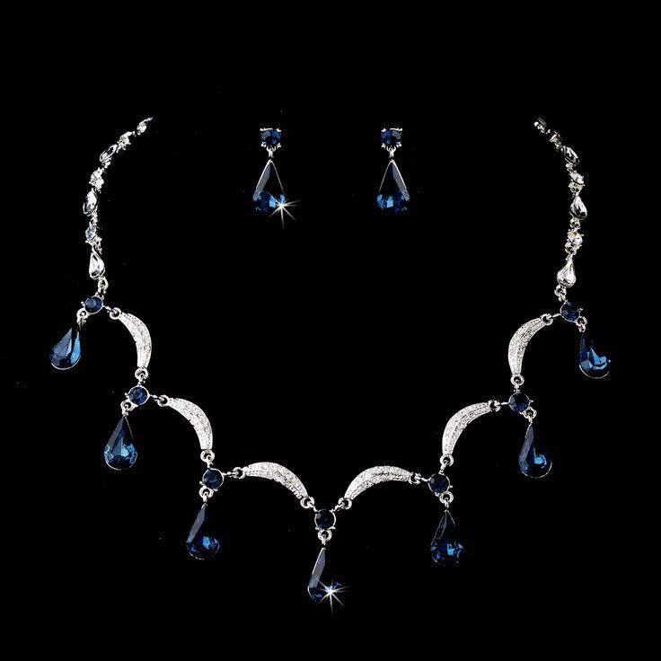 13 best Blue for a Bride images on Pinterest Bridal necklace