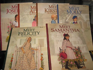 American Girl Books. I LOVED these books and pretended to be each of the characters.