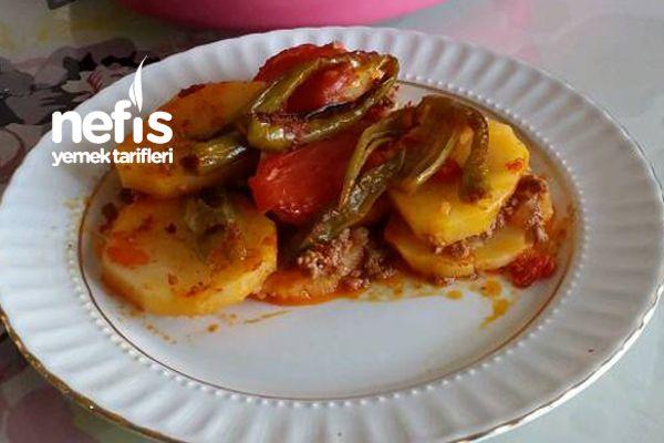 Fırında Nefis Patates Oturtma (Kızartmadan )