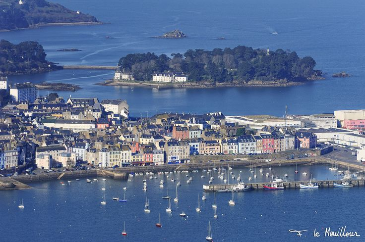 Aerial Image of Douarnenez