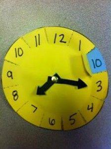 anasınıfı saat öğretimi etkinlikleri (4) « Evimin Altın Topu