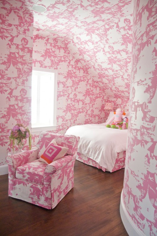 Haute Pink Toile Bedroom Pinterest Room And