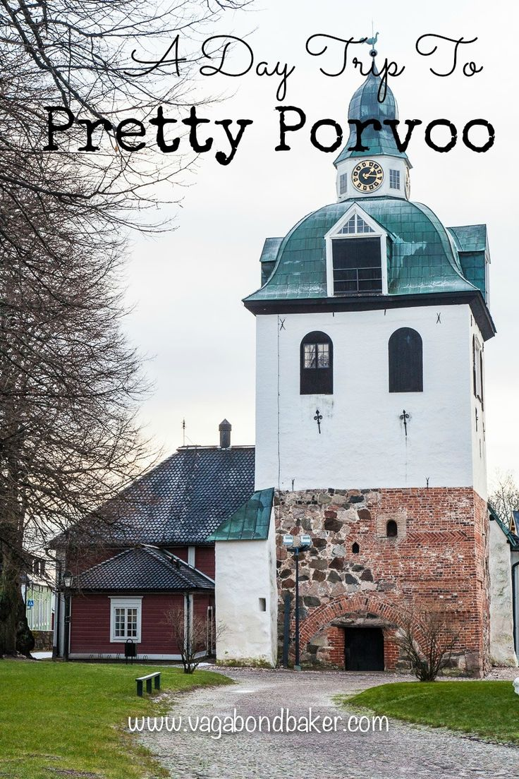 A Day Trip To Pretty Porvoo (Borgå), Finland