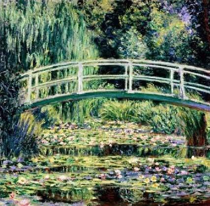 Claude Monet, Les Nympheas Blancs, 1899