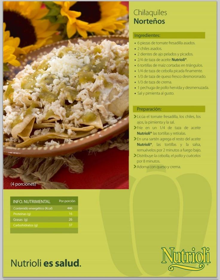 Chilaquiles Nortenos Comida Mexicana Salsa Mexican DishesMexican RecipesMexican CookingBreakfast