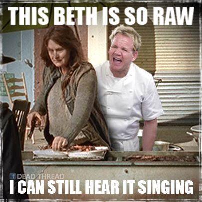 #Terminus The walking dead Beth Greene