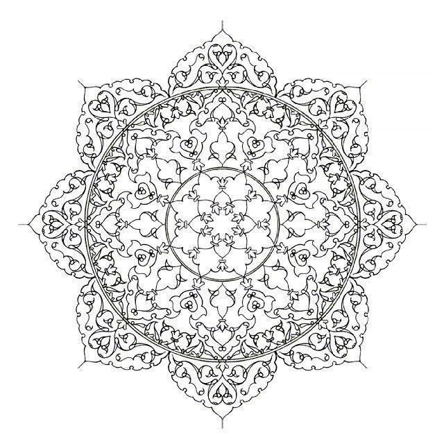 طرح اسلیمی Islamic Art Pattern Pattern Art Arabesque