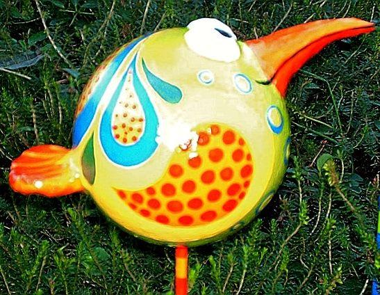 Lustige Vögel bewachen den Garten... - creadoo.com