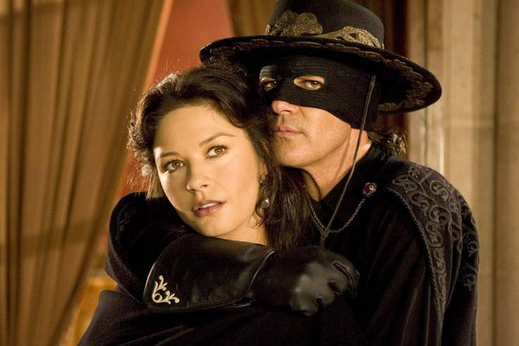 Catherine Zeta Jones and Antonio Banderas - THE LEGEND OF ZORRO
