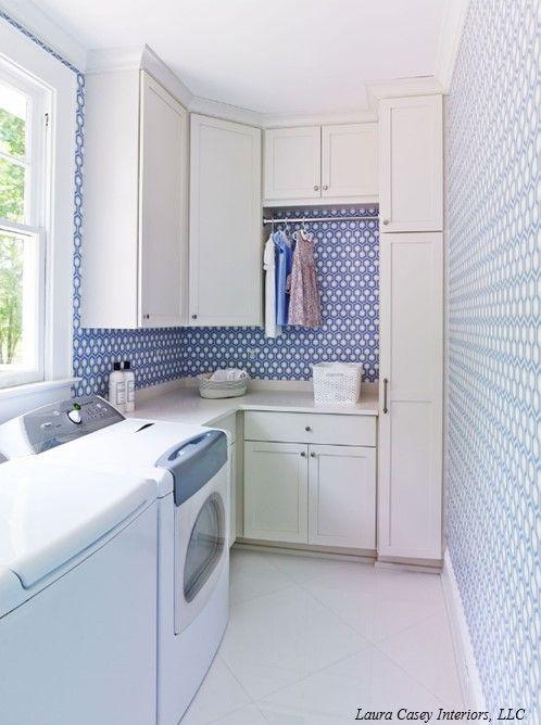 laundry room | Laura Casey Interiors