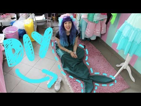 Meerjungfrauen-Schwanz-Decke