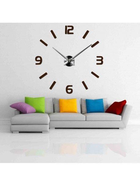Elegant ceas de perete 3D - SONOMA Referinta  12S049-Stylish wall clock  Conditie:  Produs nou  Disponibilitate:  In Stock  Alegeți-vă propria culoare! Completați un loc vacant și relaxați-vă casa cu un ceas nou. Ceasurile de perete mari reprezintă un decor unic al interiorului dvs. E timpul să se schimbe.
