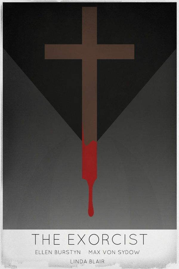The Exorcist movie poster by ~morphindel on deviantART
