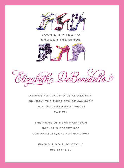 19 best bridal shower images on pinterest bridal parties bridal bridal shower invites with purse and shoes custom design invitations invite bridal shower wedding monolo filmwisefo
