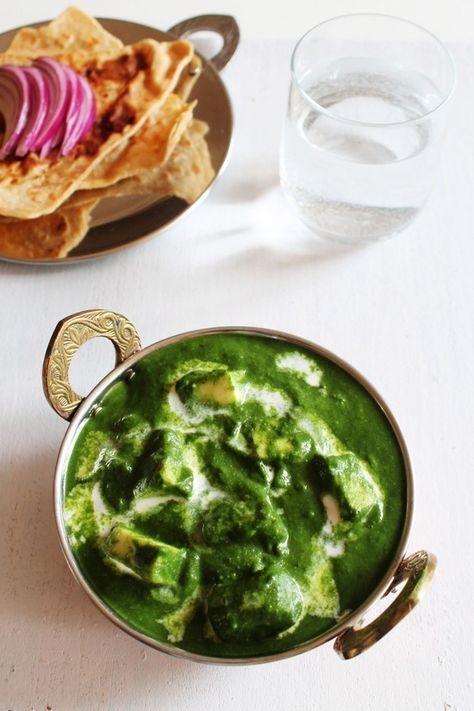 Palak Paneer Recipe | Restaurant style Punjabi Palak Paneer