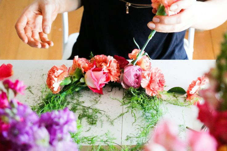 Flower Crown Workshop with the Showroom - The Ever After Story