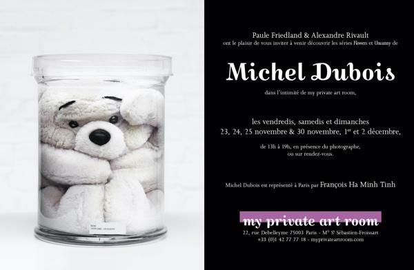Michel Dubois @ my private art room by Alexandre Rivault, via Behance
