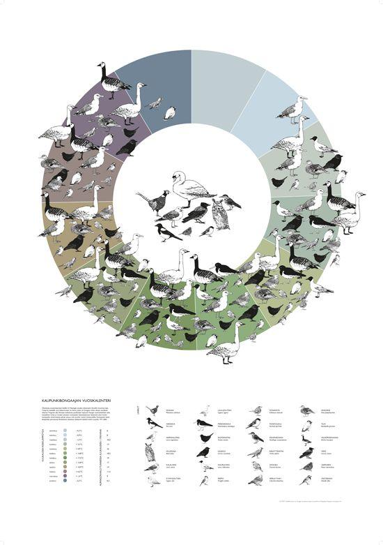 the urban birdwatcher's calendar - Maija Keskisaari