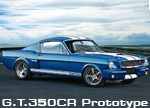 The Shelby G.T.350 is one of the most iconic and collectible muscle cars of the 60's. Classic Recreations now builds the Shelby G.T.350CR. Each Shelby G.T.350CR is hand built at our facility located in Oklahoma. Modern amenities include a 545 HP 427 cubic inch stroker motor, authentic Shelby Performance Parts, rack and pinion steering, race inspired coil over suspension, oversized disc brakes, and more. We start with an original 1965 or 1966 Mustang Fastback and perform a complete…