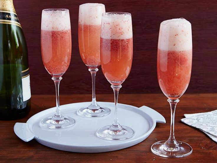 Grand Champagne Cocktail recipe from Bobby Flay via Food Network