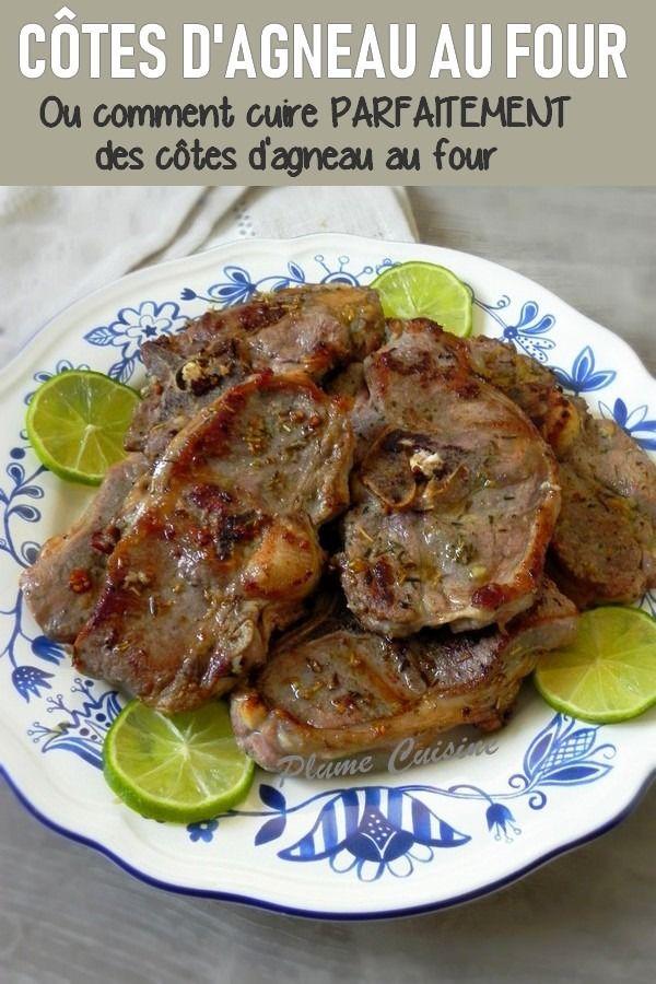 Recette Cotelette D Agneau Au Four : recette, cotelette, agneau, Côtes, D'agneau, Herbes, Recette, Cotelette, Agneau,, Agneau, Four,