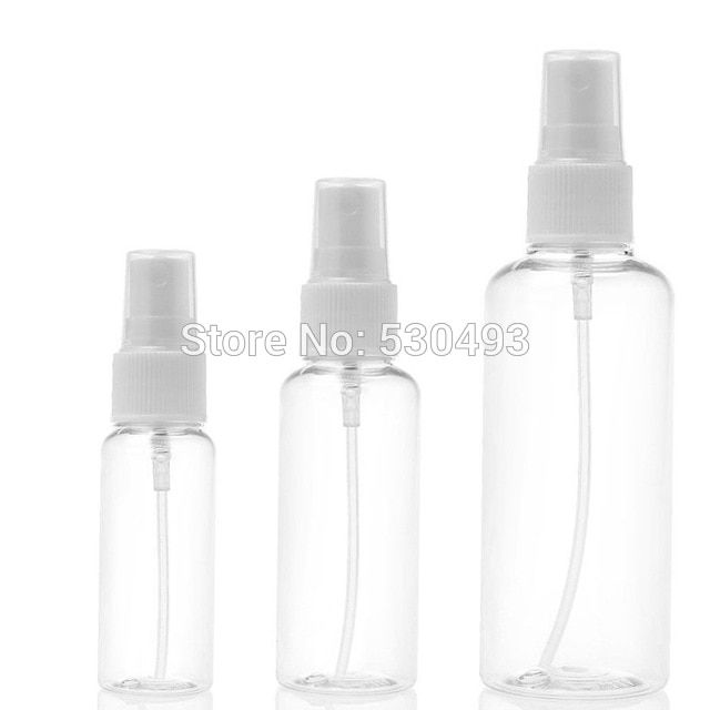3pcs 30ml 50ml 100ml Clear Plastic Portable Spray Bottle Empty Perfume Bottles Refillable Mist Pump Perfume Atomi Empty Perfume Bottles Bottle Perfume Atomizer