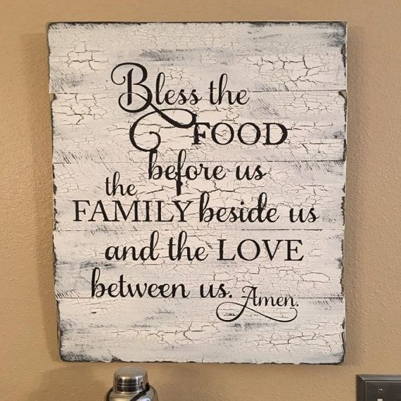 25+ best ideas about Kitchen Decor Signs on Pinterest   Kitchen signs, Farm kitchen  decor and Vintage wood signs