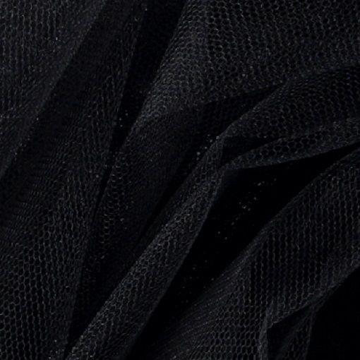 Tulle black - Stoff & Stil