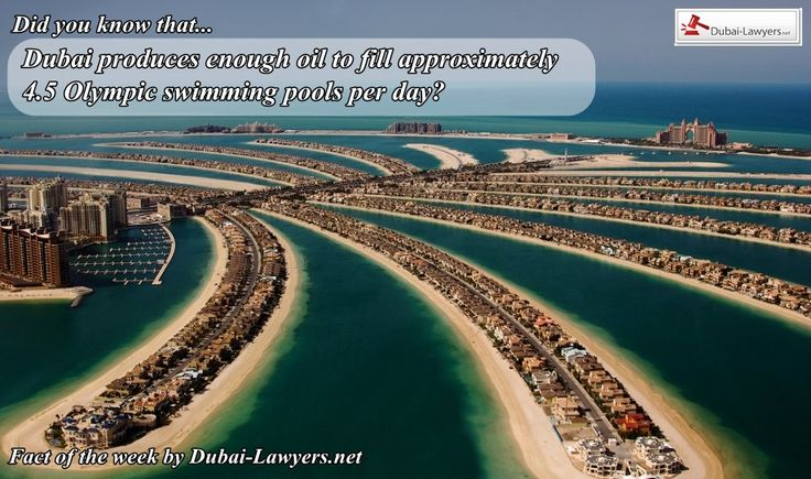 New Fact of the Week from our lawyers in Dubai #factoftheweek www.dubai-lawyers.net