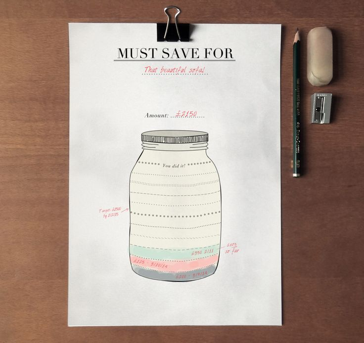 Savings Tracker - Stylish Mason Jar Simple Finance Organizer, Printable Savings Planner Artwork INSTANT DOWNLOAD A5 / A4 Dry Erase by CrossbowPrintables on Etsy https://www.etsy.com/listing/202052740/savings-tracker-stylish-mason-jar-simple