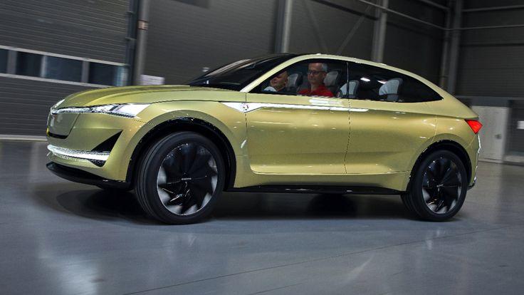 Skoda Vision E - BILD testet den Tschechen-Tesla