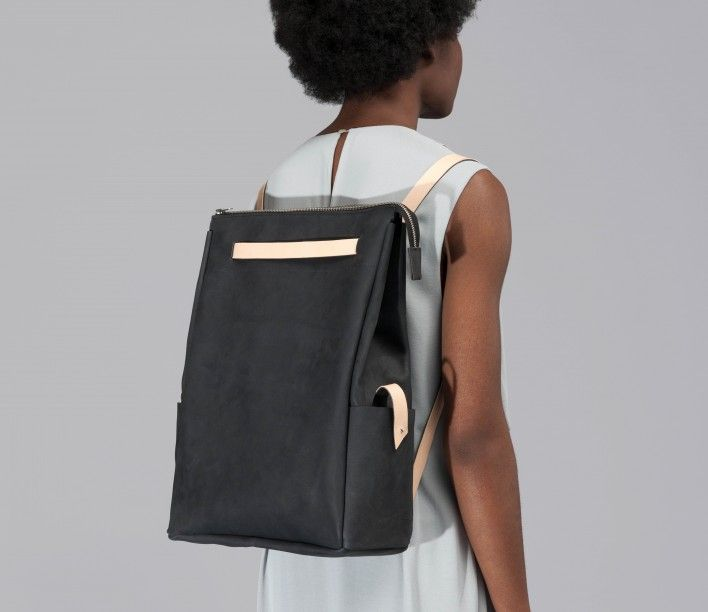 Two-Color Bag/ Backpack by DORA
