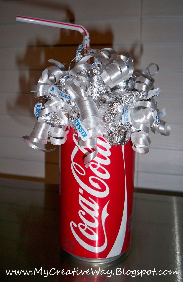 Coca Cola Candy Bouquet No Directions Just Photo