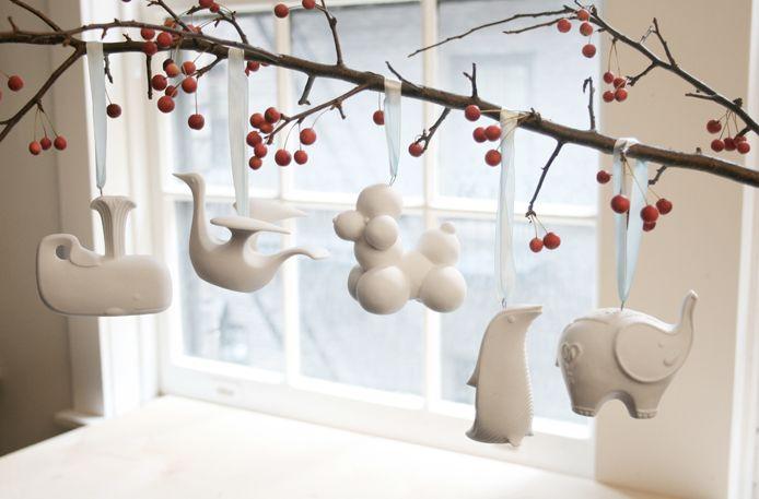Sweet little ornaments <3  Jonathan Adler