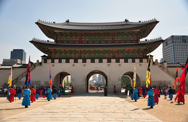 경복궁, 서울 (Gyeongbokkung, Seoul)