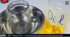 Découper une bouteille en verre avec de l'huile
