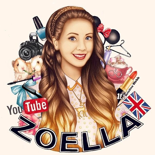 Zoella Line Drawing : Best images about kristina webb