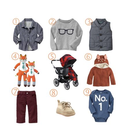 A Toddler's Fall Fashion Roundup #baby #fashion