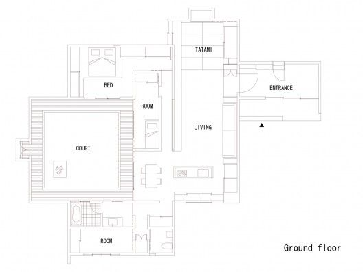 House Of Spread Form Traditional Traditional Japanese House And House Floor Plans