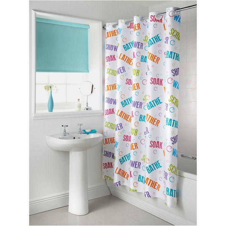 1,000 件以上の 「Hookless Shower Curtain」のおしゃれアイデアまとめ ... Hooklessシャワーカーテン, 明るいバスルーム, シャワーカーテン