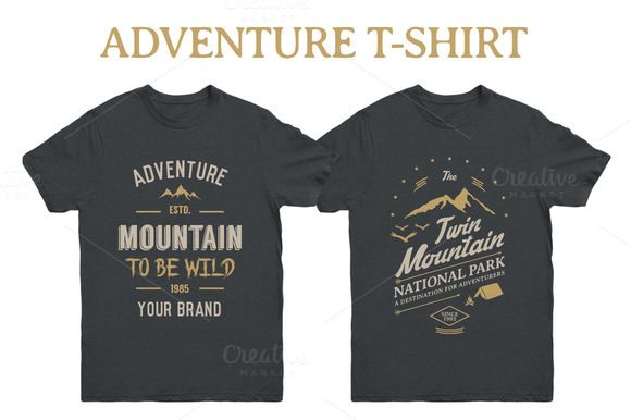 Adventure T-Shirt by Rooms Design Shop on @creativemarket