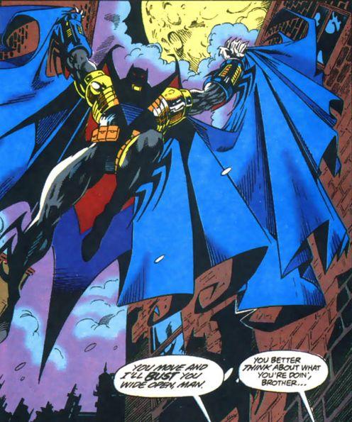 Lucifer Azrael: The John Paul Valley Batman.