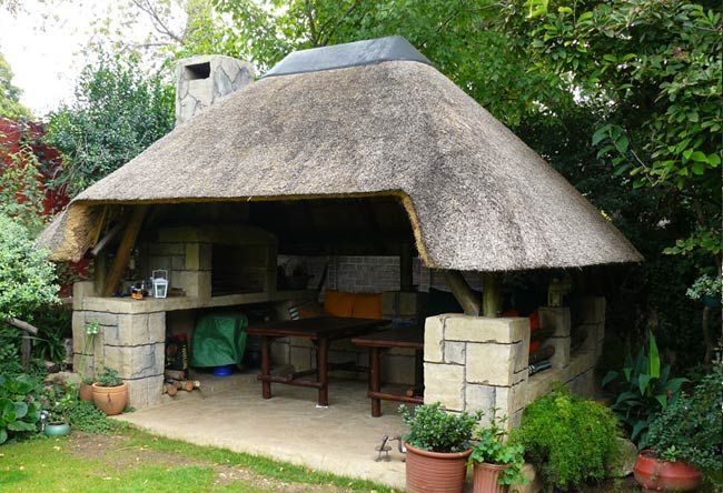 Thatching | Thatch Roof Design | entertainment areas ...