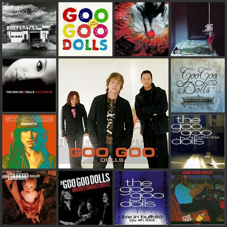 Goo Goo Dolls Collage by Bairdsgirl11797.deviantart.com on @DeviantArt
