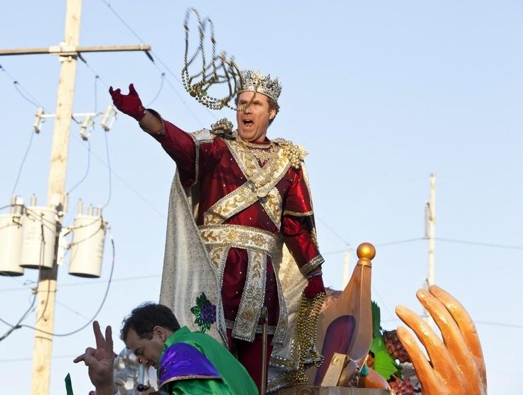 Will Ferrell - King of Mardi Gras