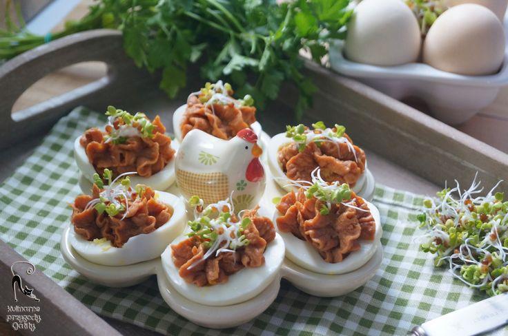 Kulinarne przygody Gatity: Jajka faszerowane z tuńczykiem