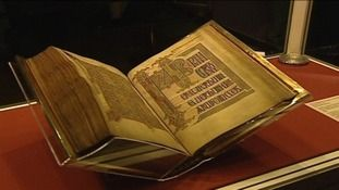 Lindisfarne Gospels to return to Durham | Tyne Tees - ITV News