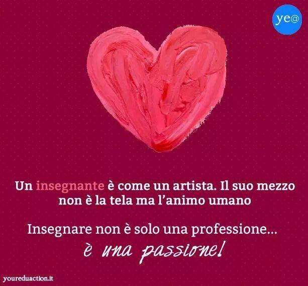 Insegnare per passione