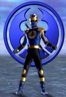 navy thunder ranger | Power Rangers Ninja Storm - Navy Thunder - Rangergallery