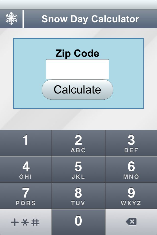"""Snow Day Calculator :) When you get to the site, click on the """"Calculator"""" Bar. This would be great for those days my kids think I have magical weather predicting ability."""